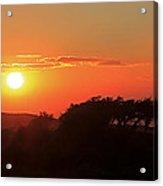 Tundra Sunset Acrylic Print