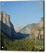 Tunnel View Acrylic Print