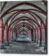 Tunnel With Arches Acrylic Print