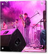 Turab Band At 1st Nativity International Christmas Festival Acrylic Print