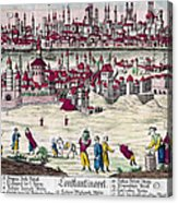 Turkey: Istanbul, C1820s Acrylic Print