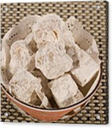 Turkish Delight In A Bowl Acrylic Print