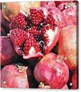 Turkish Pomegrants Acrylic Print