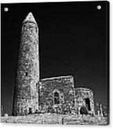 Turlough Round Tower County Mayo Ireland Acrylic Print