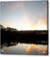 Turner Lake Sunset Acrylic Print