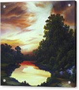 Turner's Sunrise Acrylic Print