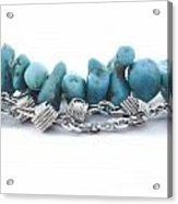 Turquoise Acrylic Print by Blink Images