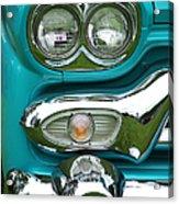 Turquoise Headlight Acrylic Print
