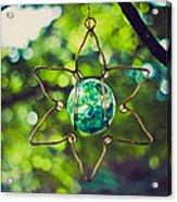 Turquoise Light Acrylic Print