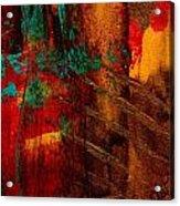 Turquoise Mountains Acrylic Print