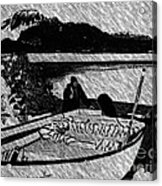 Turr Hunt Sketch Acrylic Print