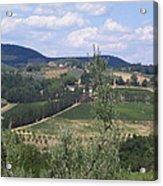 Tuscan Countryside Acrylic Print