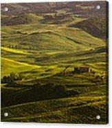 Tuscan Hills Acrylic Print by Andrew Soundarajan