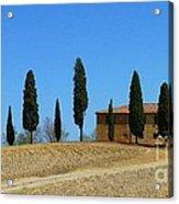 Tuscan House  I Cipressini/italy/europe  Acrylic Print