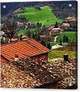 Tuscany Landscape 2 Acrylic Print