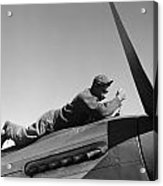 Tuskegee Airman, 1945 Acrylic Print
