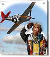 Tuskegee Airman Acrylic Print