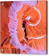 Tutu Swirls Acrylic Print by Denice Breaux