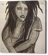 Twiggy Acrylic Print by Brittney Wallace
