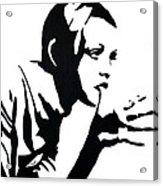 Twiggy Acrylic Print