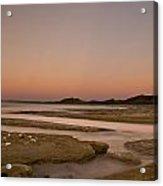 Twilight After A Sunset At A Beach Acrylic Print