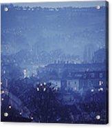 Twilight In Bath, England Acrylic Print