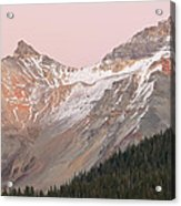 Twilight San Juan Mountains Acrylic Print