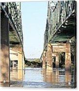 Twin Bridges Acrylic Print