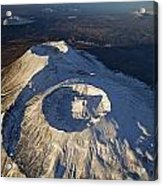 Twin Craters Atop Krasheninnikov Acrylic Print