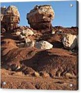 Twin Rocks Capitol Reef Np Acrylic Print