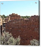 Twin Towers At Hovenweep Acrylic Print