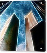 Twin Towers Acrylic Print by Paul Ward