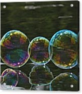 Two And A Half Bubbles Acrylic Print