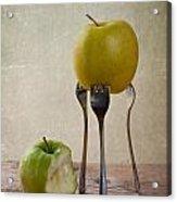 Two Apples Acrylic Print