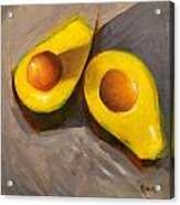 Two Half Acrylic Print by Jose Romero