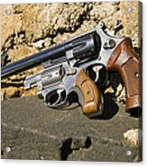 Two Hand Guns Acrylic Print