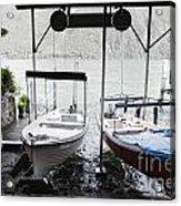 Two Hanging Boats Acrylic Print