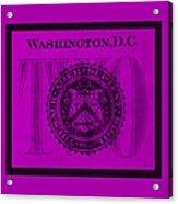 Two In Purple Acrylic Print