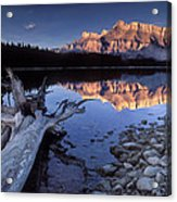 Two Jack Lake Banff Canada Acrylic Print