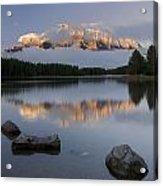 Two Jack Lake, Banff National Park Acrylic Print