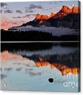 Two Jack Lake Acrylic Print