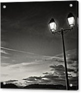 Two Lights At The Sunset Acrylic Print