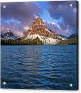 Two Medicine Morning Panorama Acrylic Print
