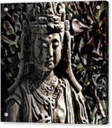 Two Sides Of Buddha Acrylic Print