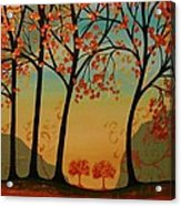Two Small Trees Acrylic Print