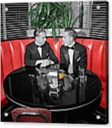 Two Tuxedos Acrylic Print