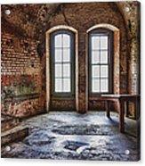 Two Windows Acrylic Print by Garry Gay