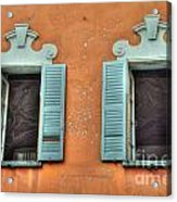 Two Windows Acrylic Print