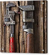 Two Wrenches Acrylic Print by Garry Gay