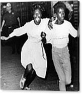 Two Young African Americans Girls, One Acrylic Print